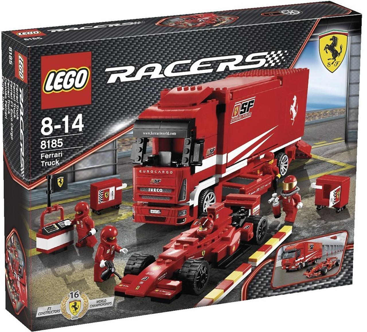 LEGO Racers Ferrari Truck Set 8185 - ToyWiz