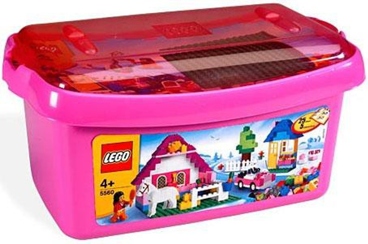 LEGO Large Pink Brick Box Set 5560 - ToyWiz