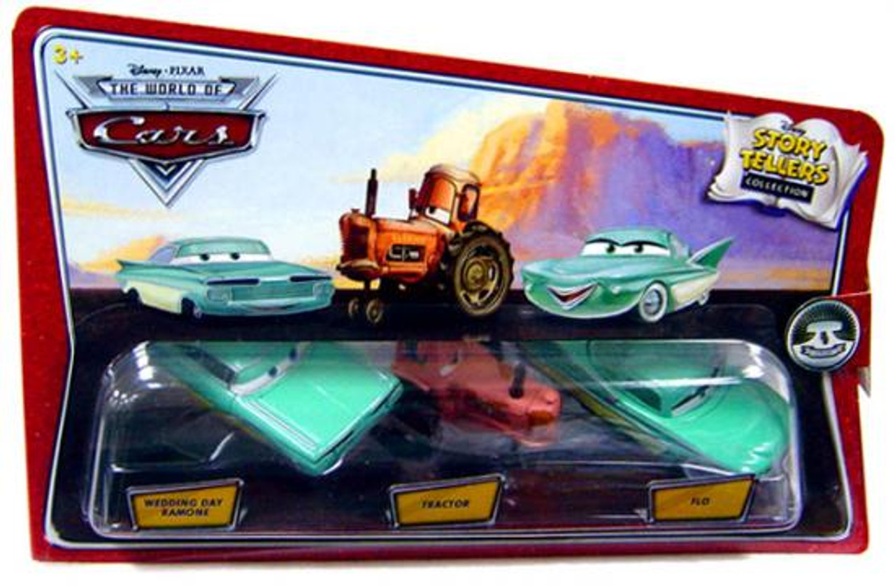 Disney Pixar Cars The World Of Cars Story Tellers Wedding Day