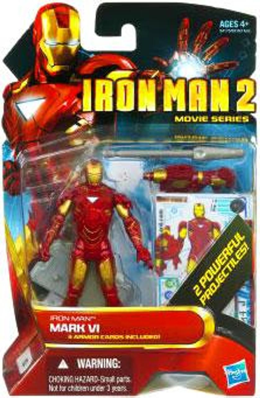 Hasbro Marvel Iron Man 2 Movie Series Iron Man Mark V #11 Action Figure