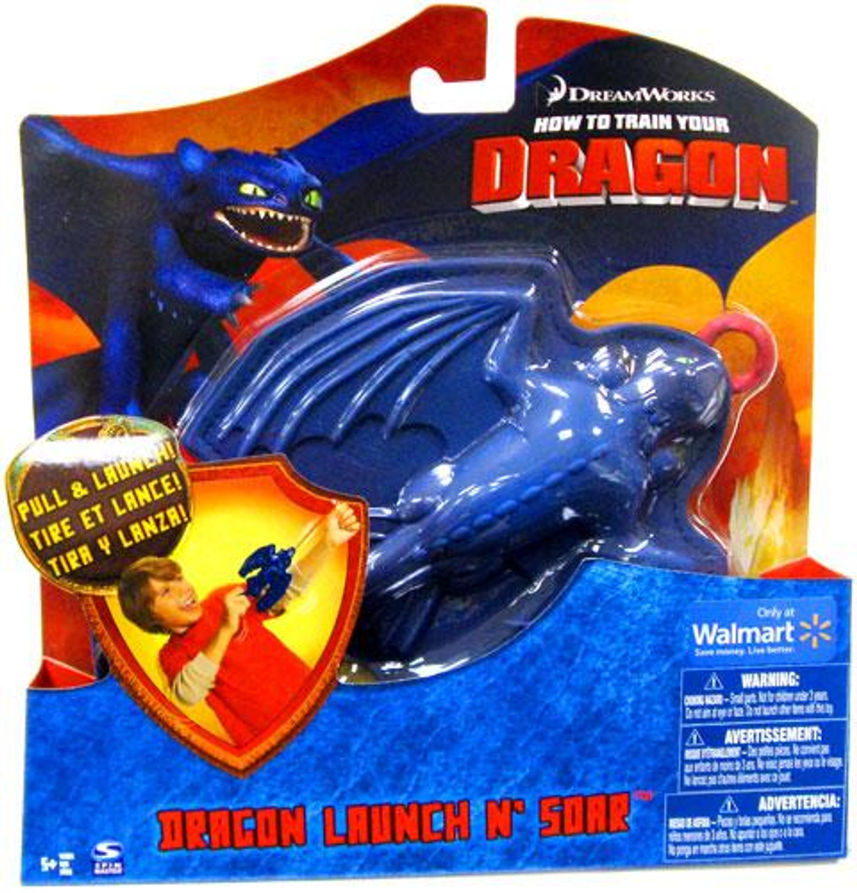 How To Train Your Dragon Movie Launch n Soar Figure Night Fury