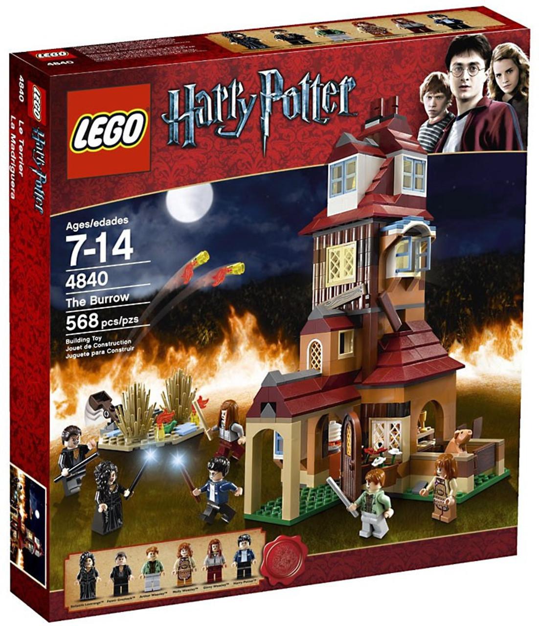 Lego ® Harry Potter minifigur Fenrir Greyback de Set 10217 nouveau