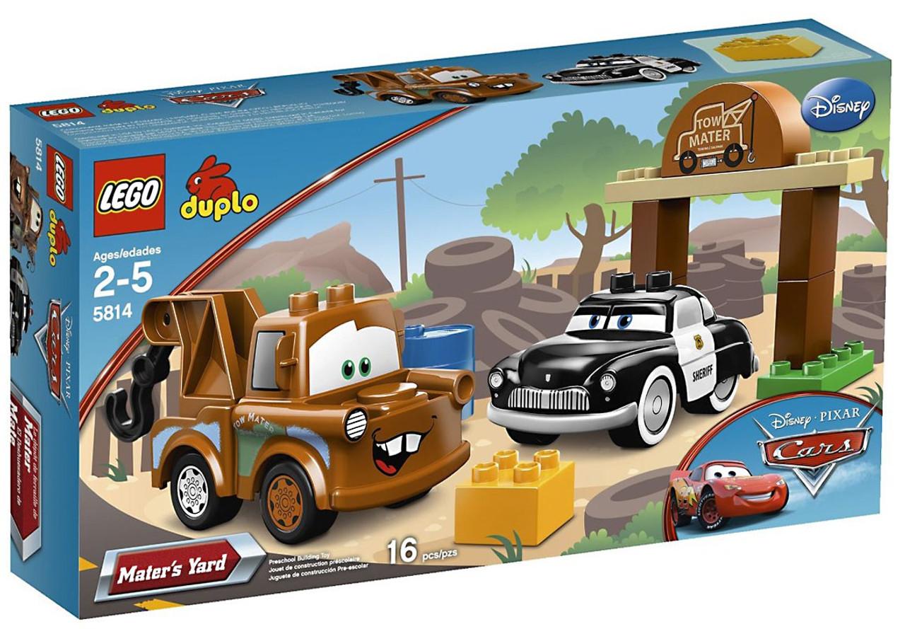 Lego Disney Pixar Cars Duplo Cars Maters Yard Set 5814 Toywiz