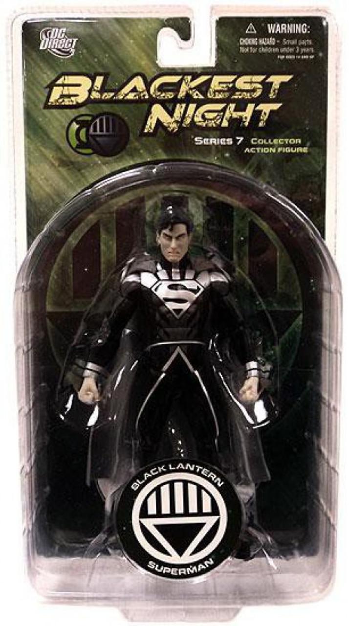 Blackest Night Black Lantern Terra w Scar Series 7 Action Figure DC Direct Green