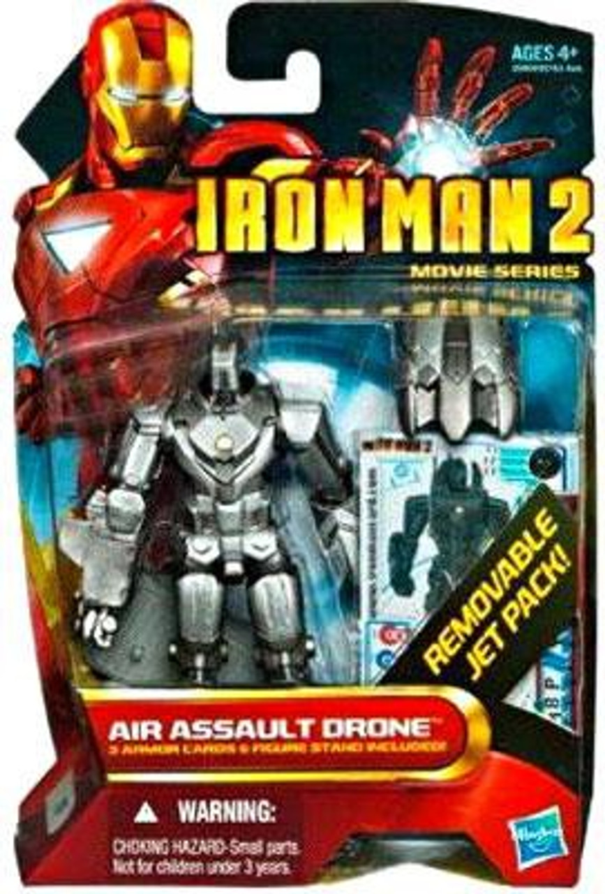 Rescue Mission Zombie Assault Arctic Edition Roblox Iron Man 2 Movie Series Air Assault Drone 4 Action Figure 17 Hasbro Toys Toywiz