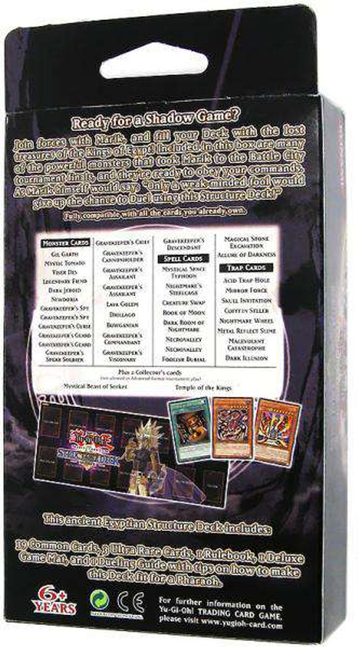 YuGiOh Structure Deck Marik Marik Structure Deck 1st Edition