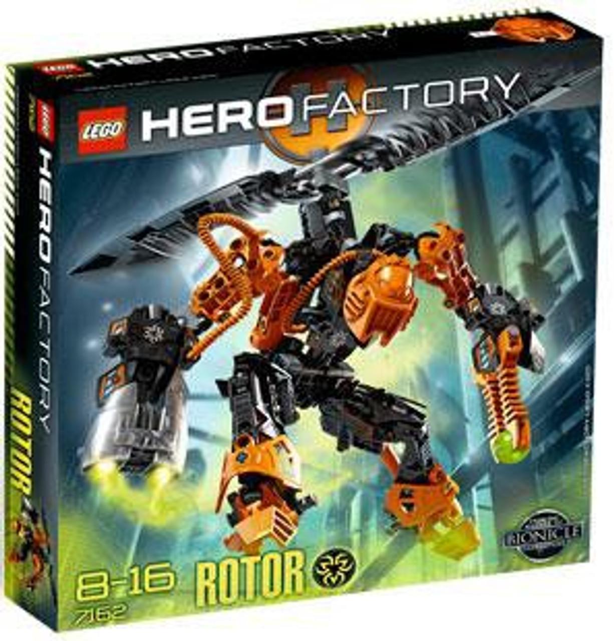 Lego Hero Factory Rotor Set 7162 Toywiz
