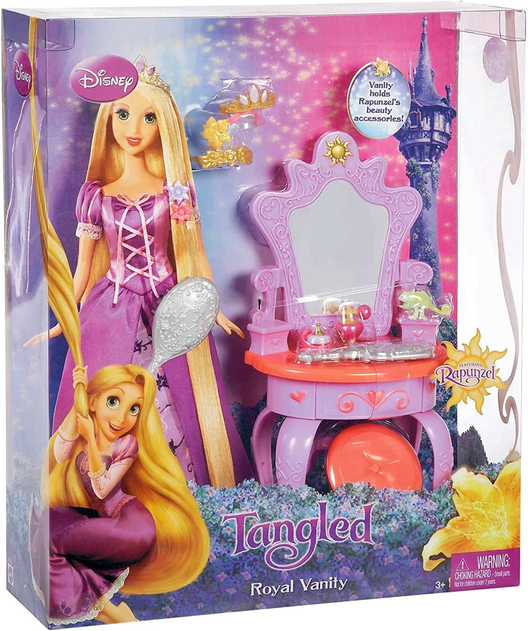 Disney Tangled Rapunzels Royal Vanity Playset Mattel Toys