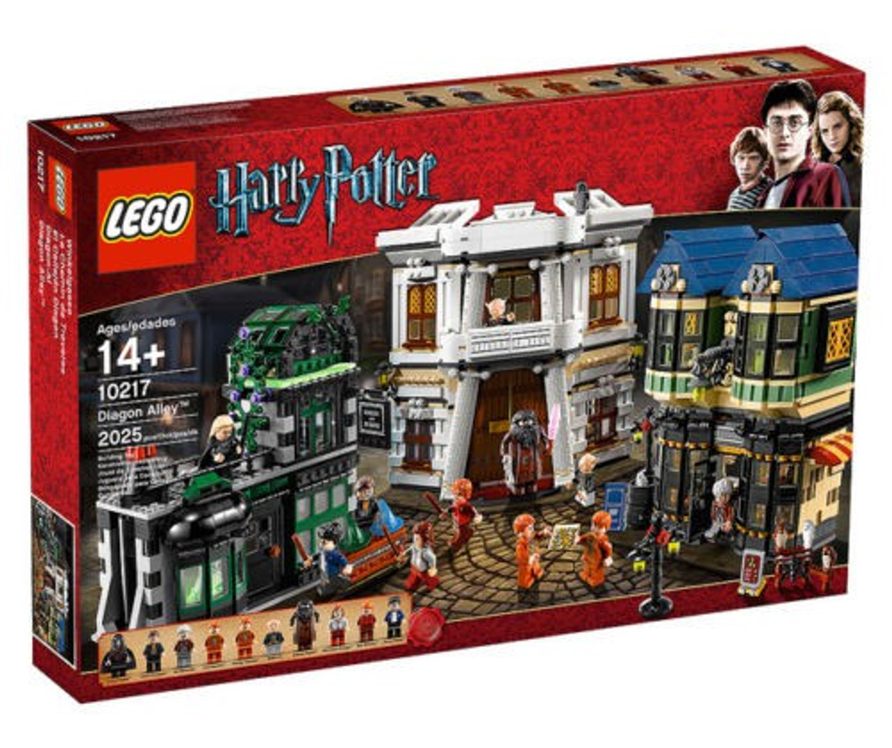 Lego Harry Potter Series 2 Diagon Alley Exclusive Set 10217 Toywiz