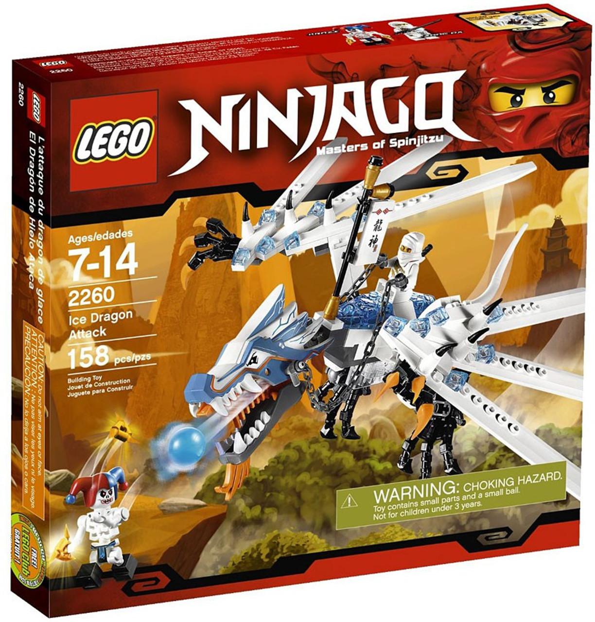 c021ad1029b7 LEGO Ninjago Ice Dragon Attack Set 2260 - ToyWiz