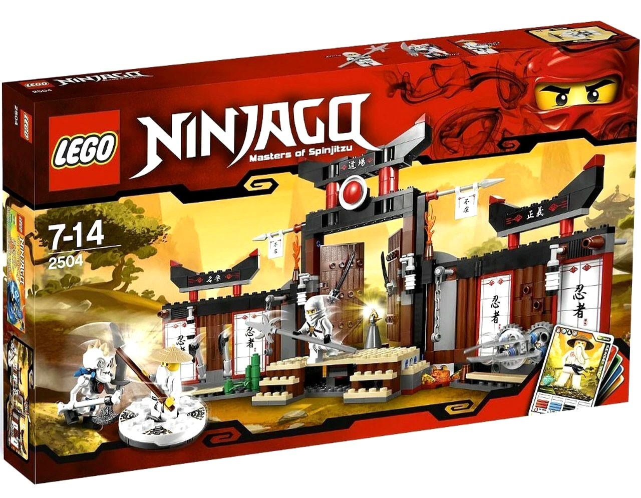 LEGO Ninjago Spinjitzu Dojo Set 2504 - ToyWiz