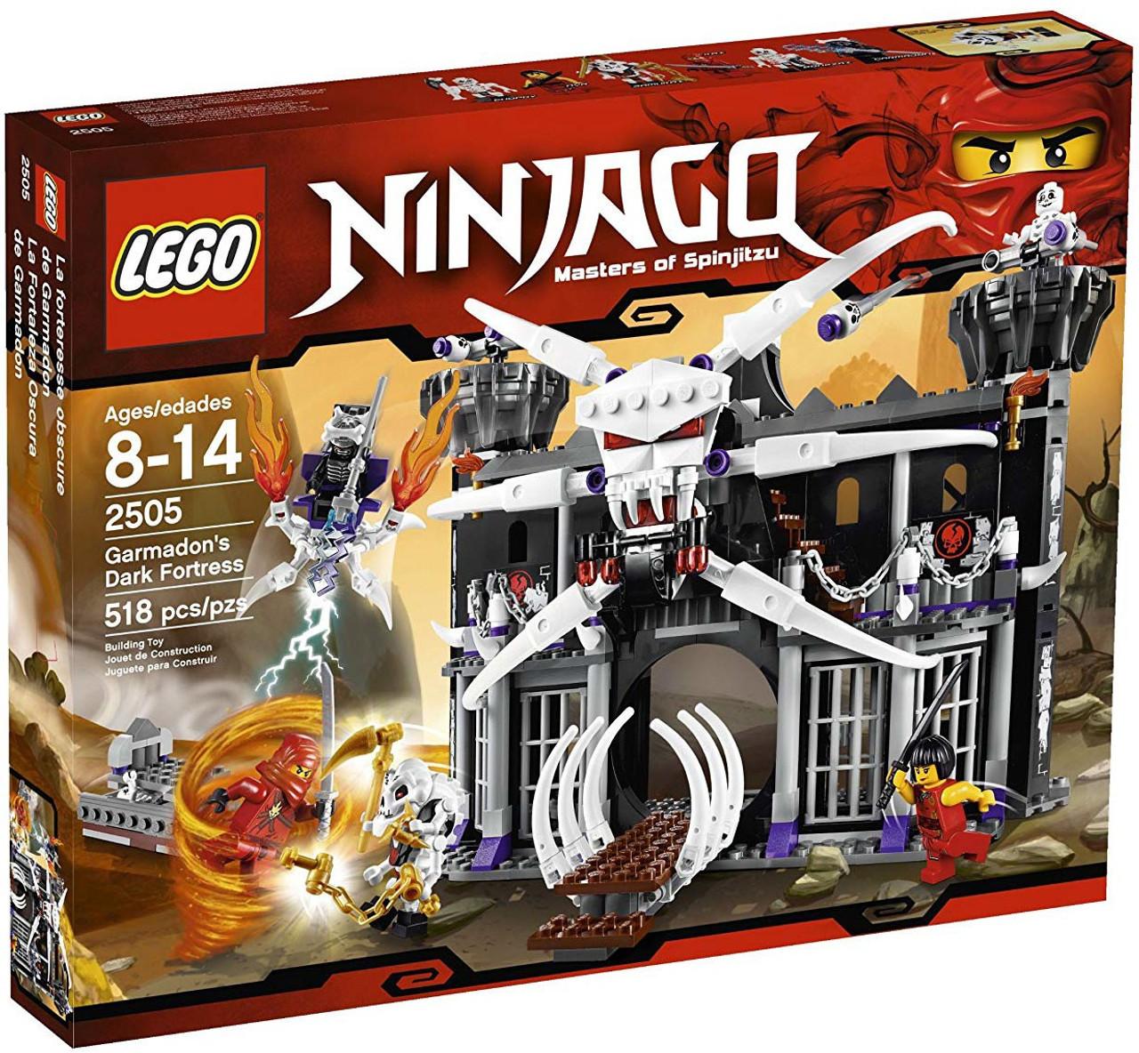 LEGO Ninjago Garmadons Dark Fortress Set 2505 - ToyWiz