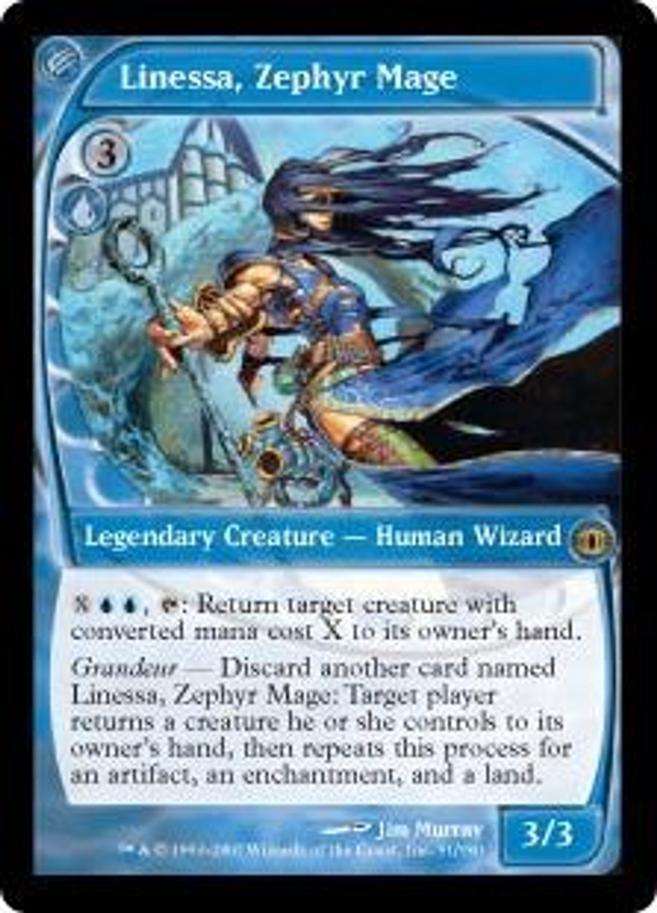 Magic The Gathering Future Sight Single Card Rare Linessa, Zephyr