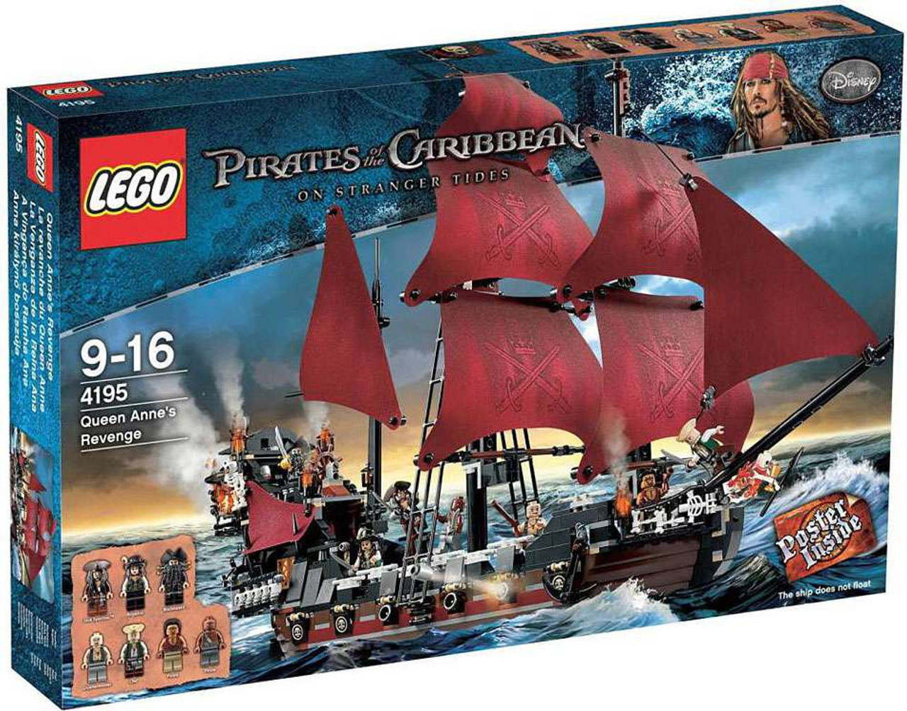 Lego Pirates Of The Caribbean Queen Annes Revenge Set 4195 Toywiz