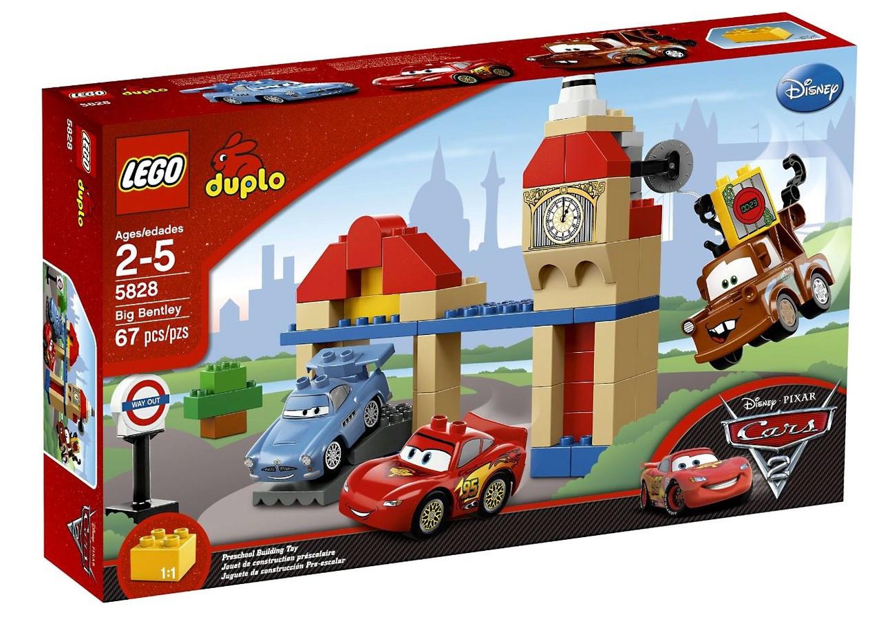 Lego Disney Pixar Cars Duplo Cars 2 Big Bentley Set 5828 Toywiz