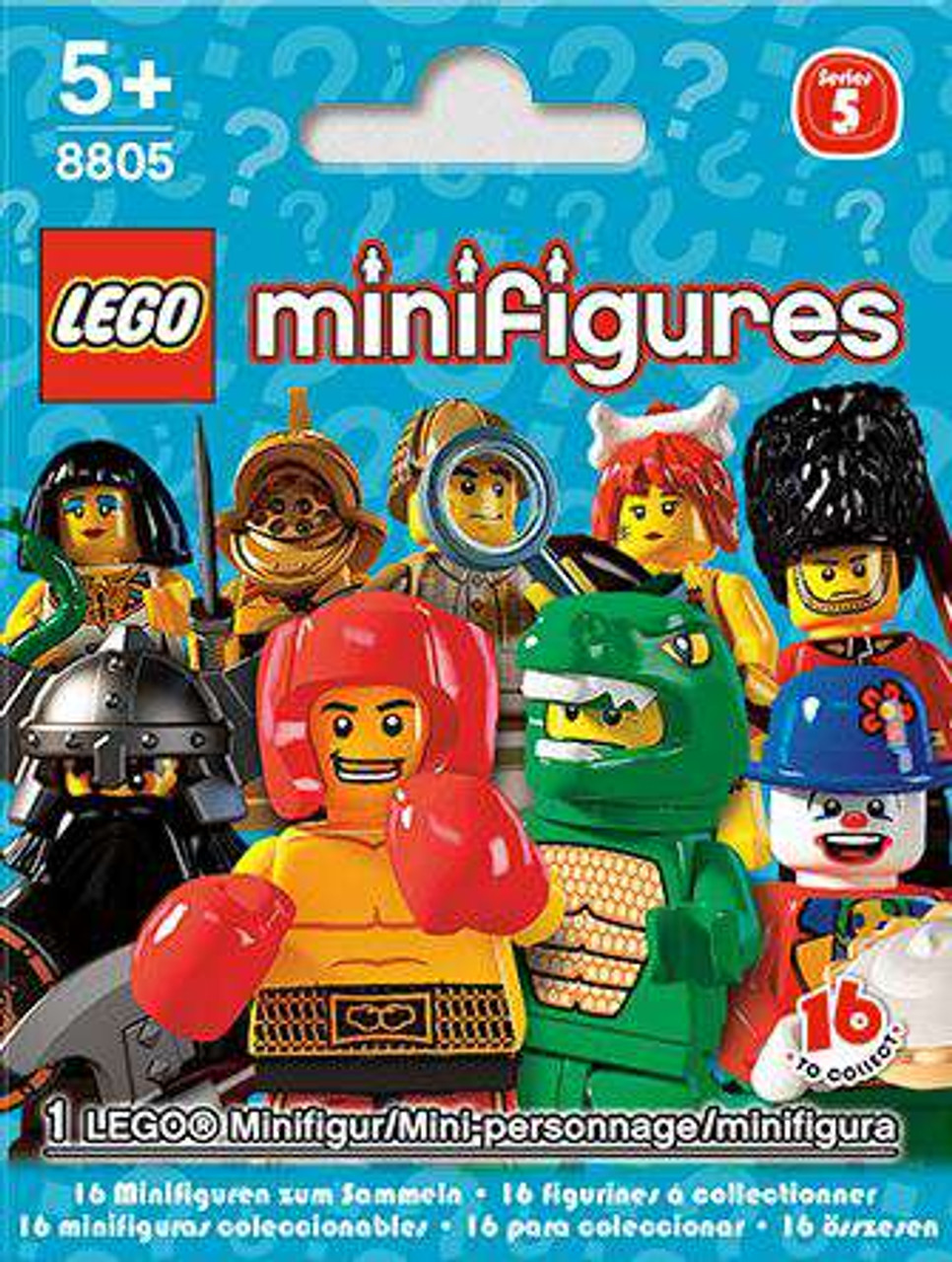 New Genuine LEGO Cave Woman Minifig with Club Series 5 8805