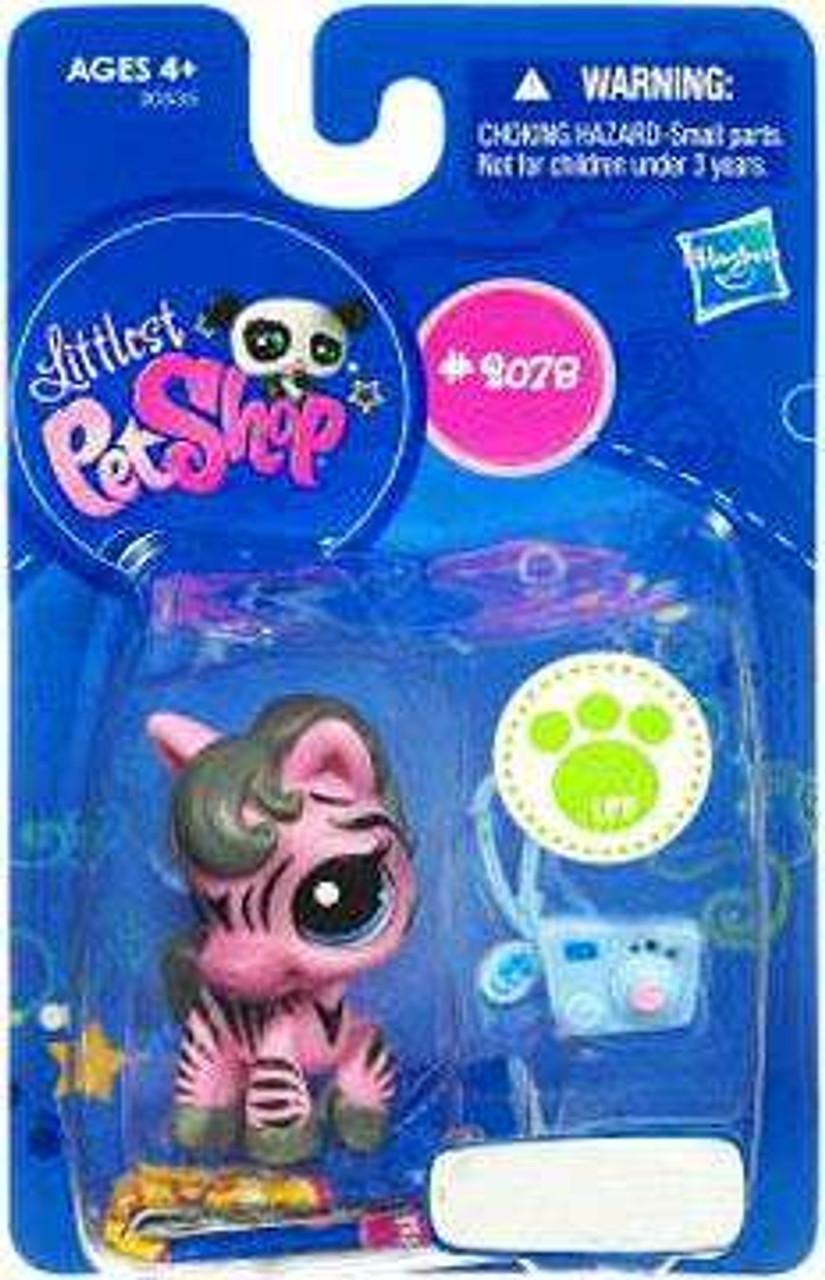 Zebra Littlest Pet Shop Single Pet