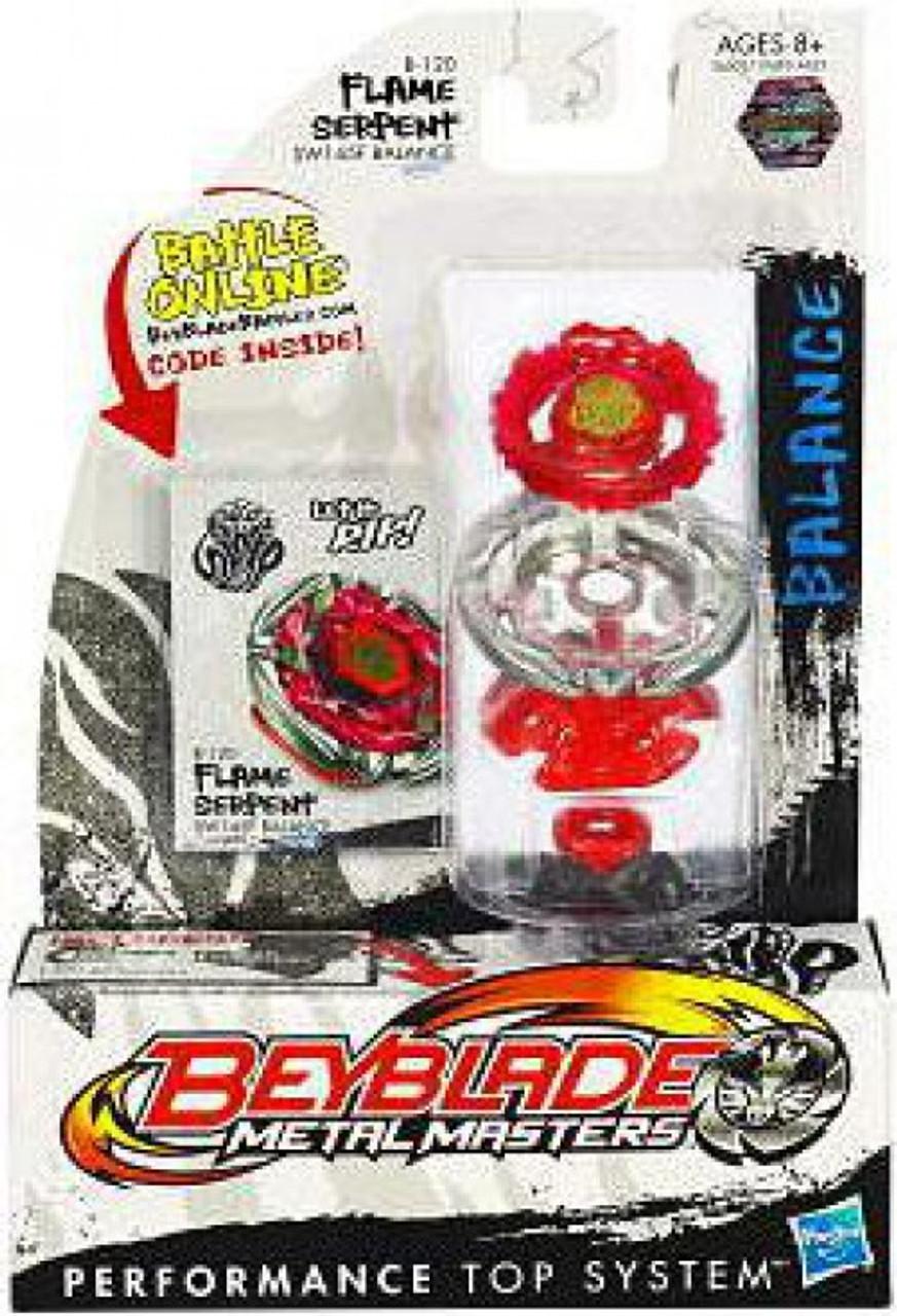 Beyblade Metal Masters Flame Serpent B-120
