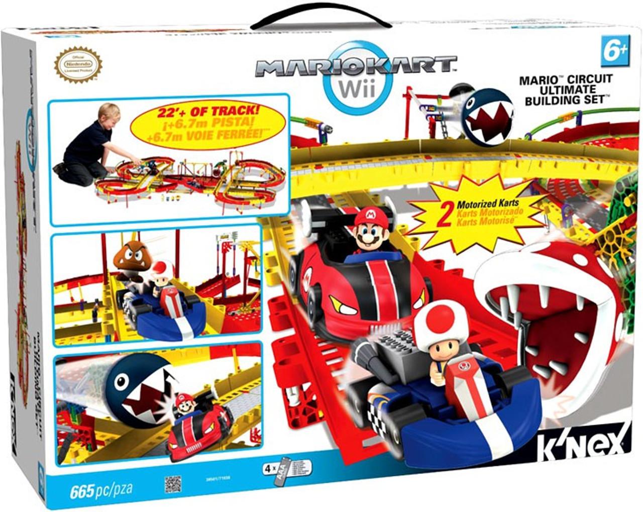 K'NEX Super Mario Mario Kart Wii Mario Circuit Ultimate Set #38501