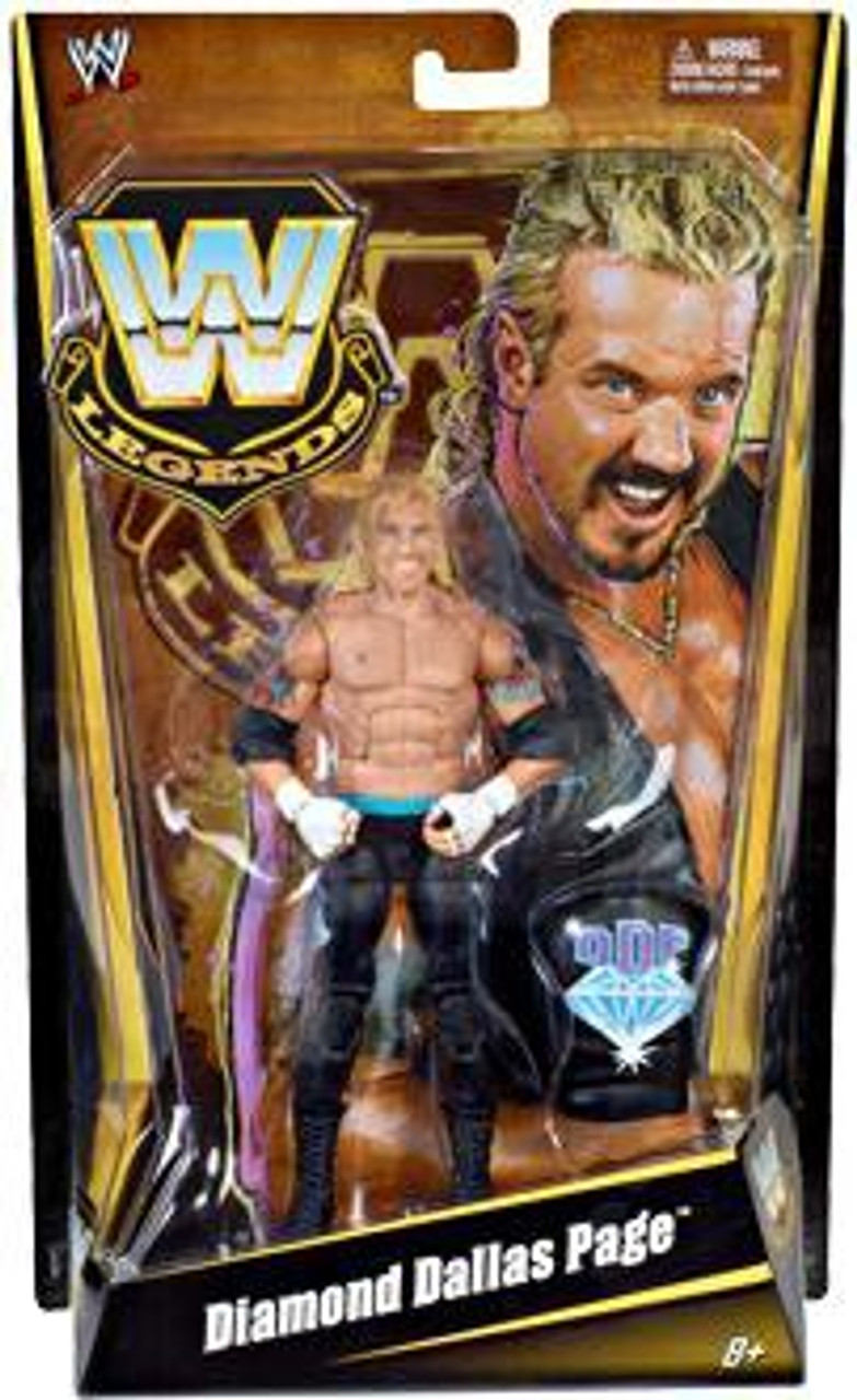 WWE Mattel Elite 36 Dallas Diamond Page Action Wrestling Figure Accessory Vest
