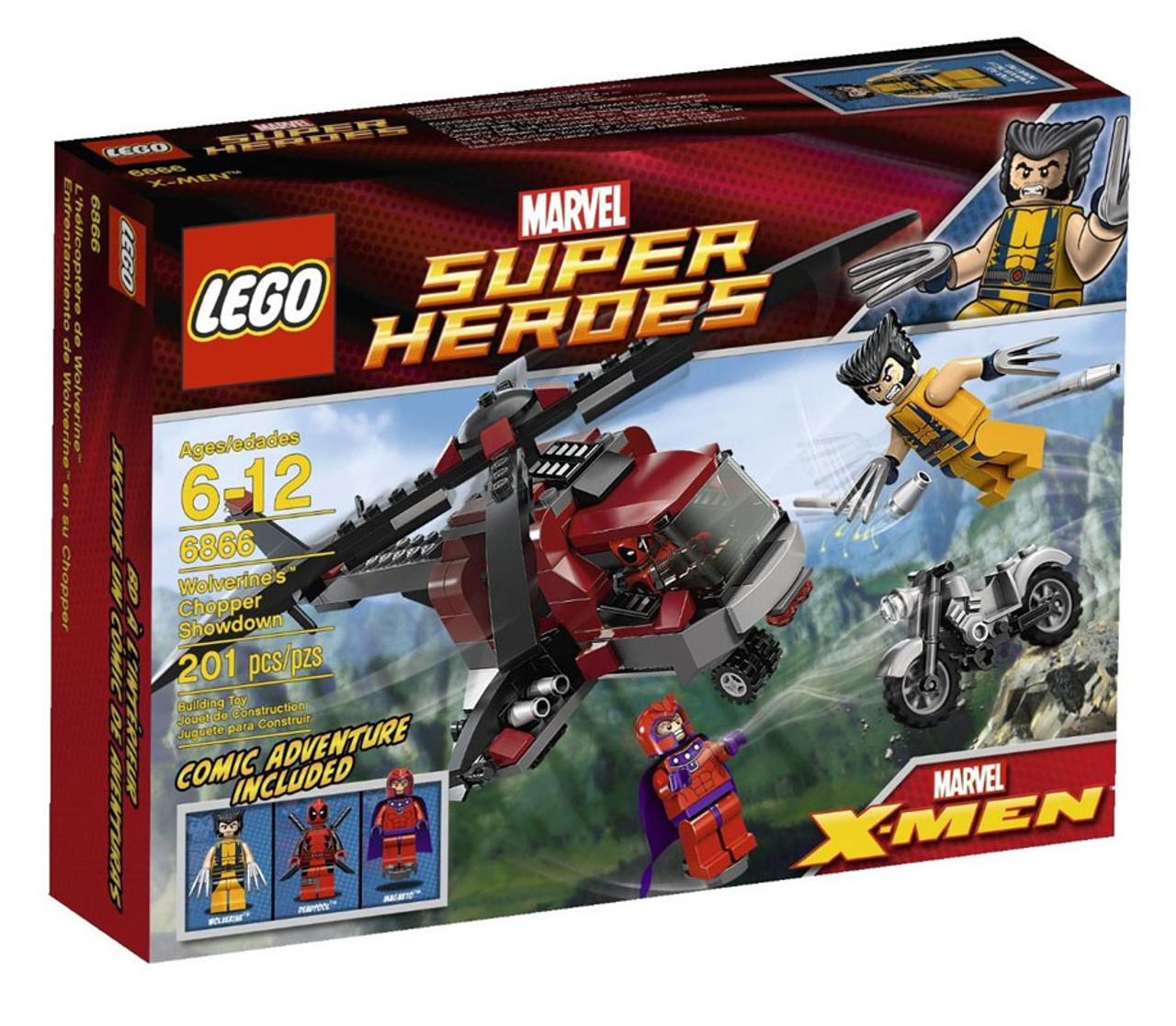 LEGO Marvel Super Heroes X-Men Wolverines Chopper Showdown ...
