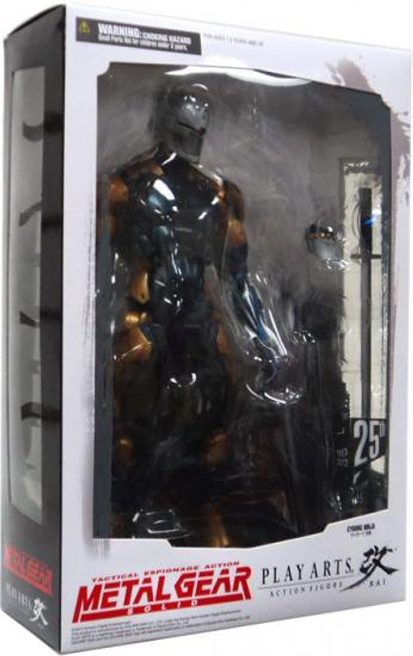 Metal Gear Solid Play Arts Kai Vol Square-Enix 5 figurine Cyborg Ninja 23 c