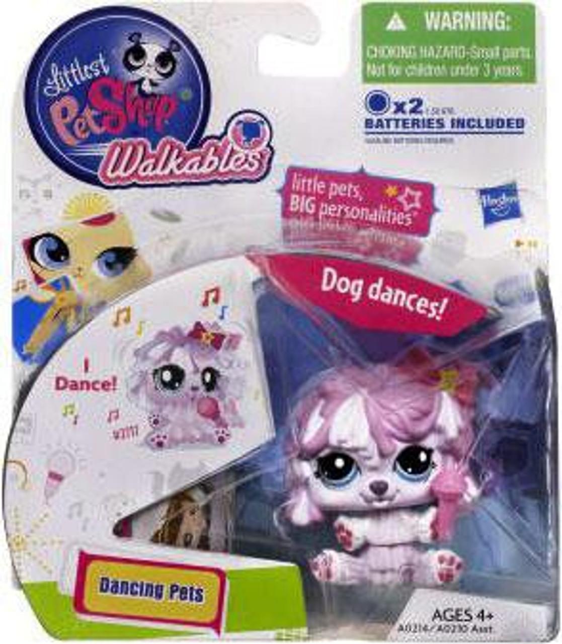 Hasbro Littlest Pet Shop Walkables Dancing Pets Ostrich Figure
