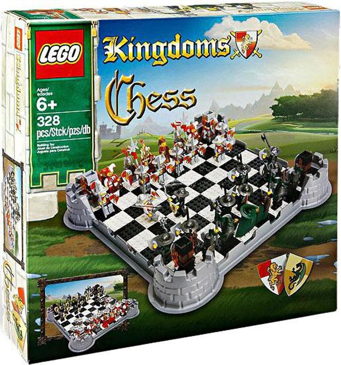 LEGO Kingdoms Chess Set 853373 - ToyWiz