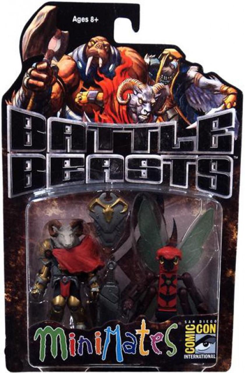 Comic Book Heroes Minimates Series 1 Battle Beasts Ruminant