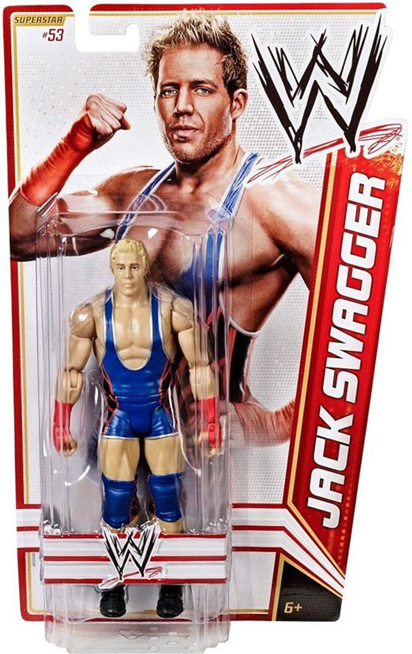 """WWE Wrestling Jack Swagger 6/"""" Wrestler Loose Action Figure"""