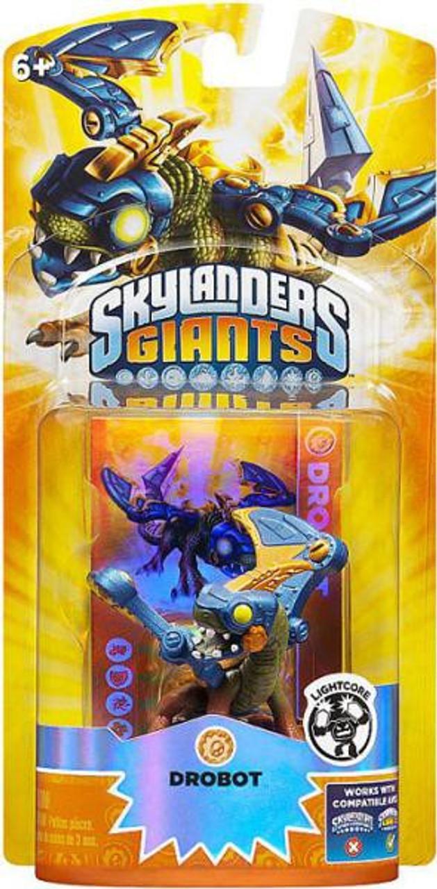 Activision Skylanders Giants Lightcore Single Character Drobot Action Figure