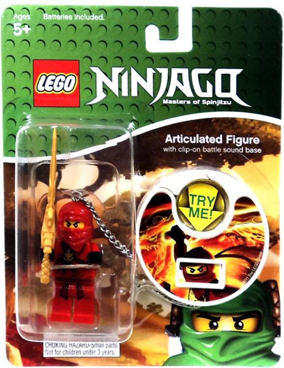 Lego NINJAGO KAI Figure Spinjitzu Master Weapon Clip-on Battle Sound Base NEW