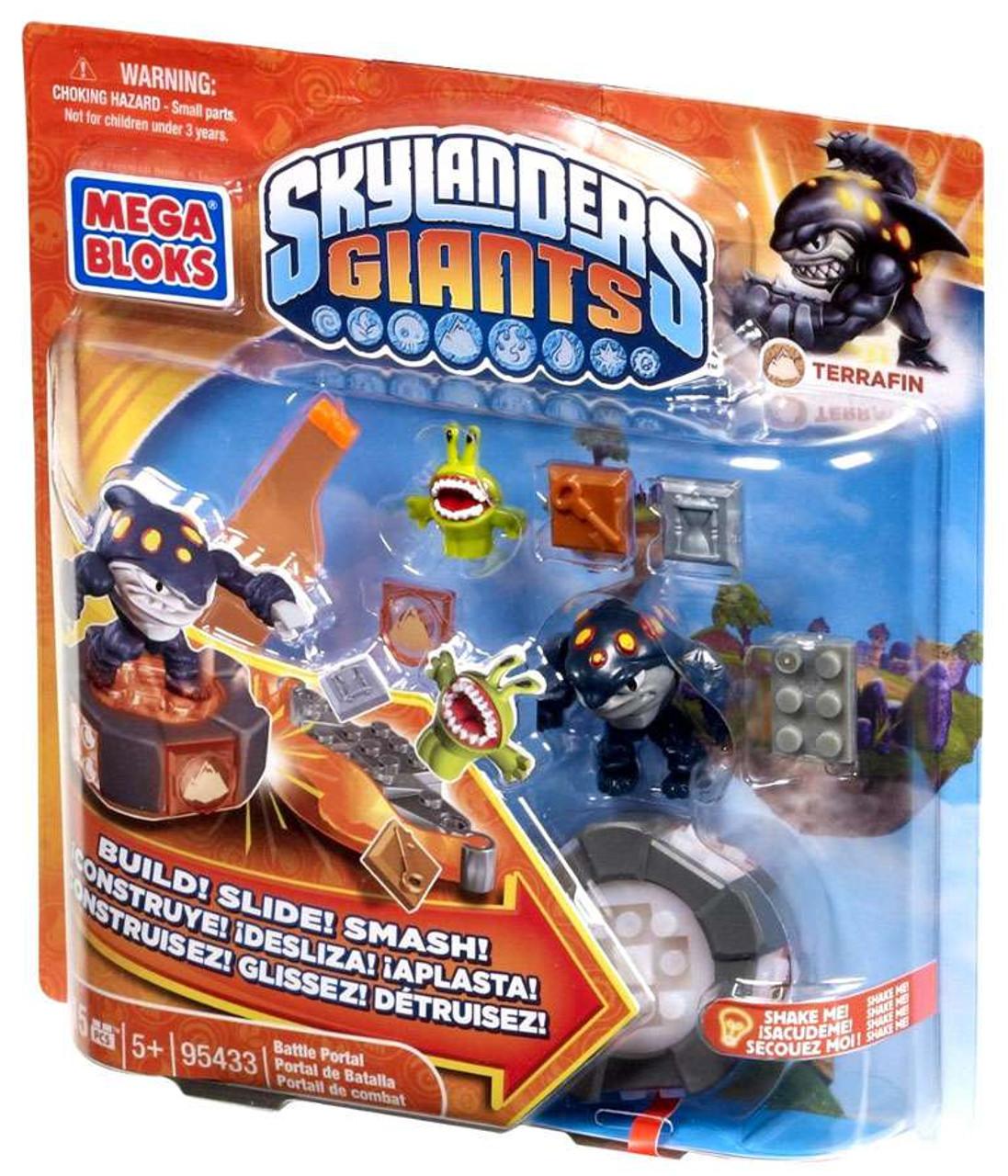 Mega Bloks Skylanders Giants Battle Portals Series 1 Terrafin Portal Set 95433