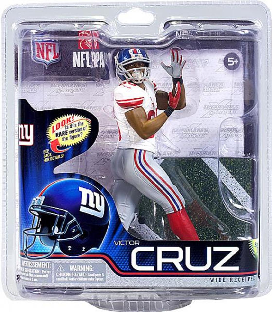 info for 2998f 068ed McFarlane Toys NFL New York Giants Sports Picks Series 31 Victor Cruz  Action Figure [White Jersey]