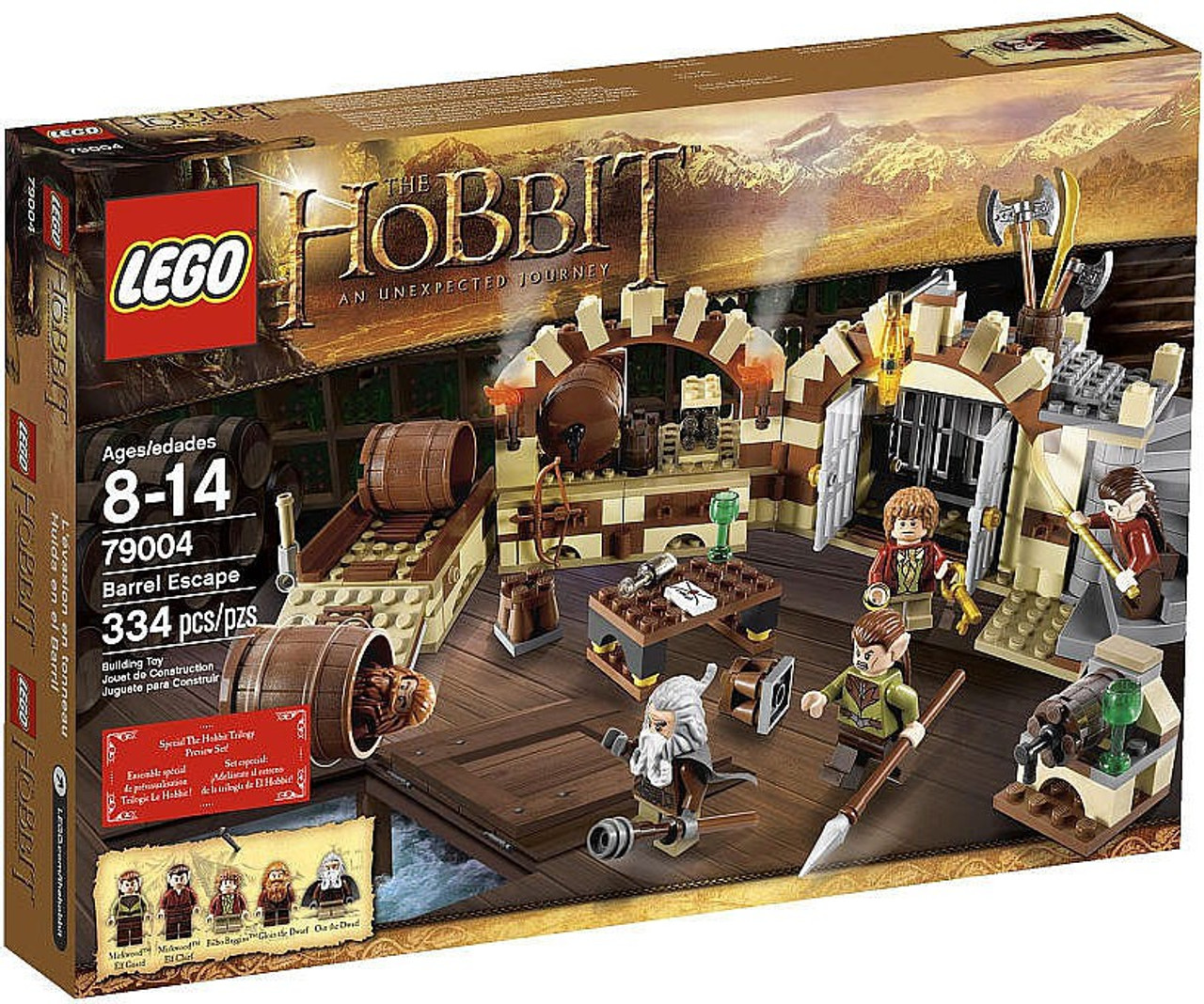 Mirkwood Elf Chief Set 79004 Lego Lord Of The Rings The Hobbit