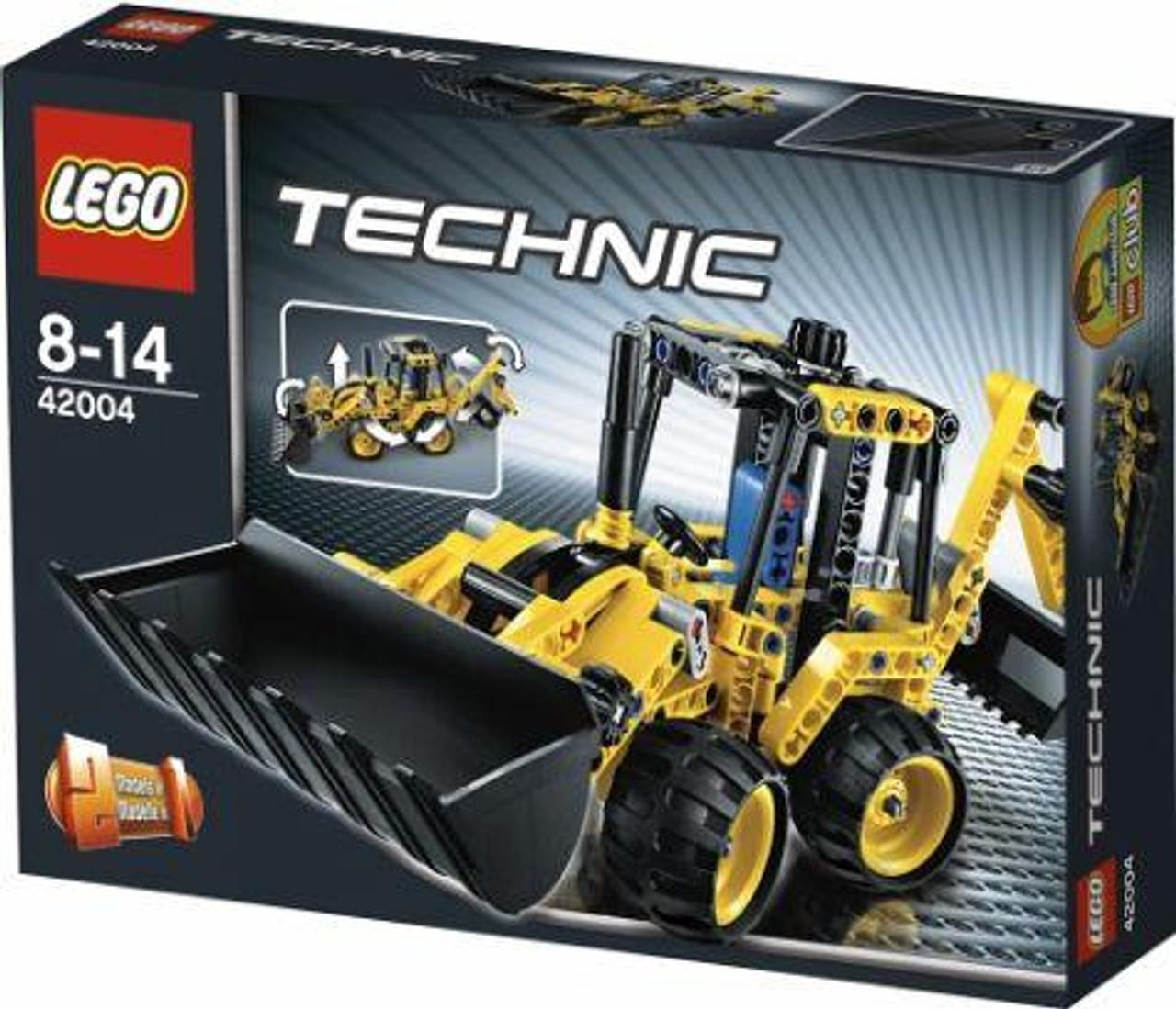 LEGO Technic Mini Backhoe Loader Set #42004