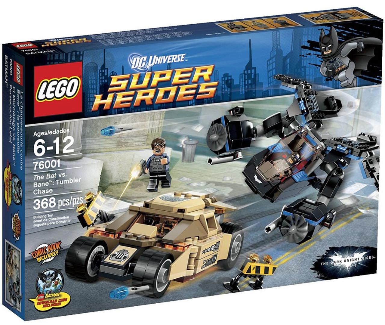 Lego Dc Universe Super Heroes The Bat Vs Bane Tumbler Chase Set