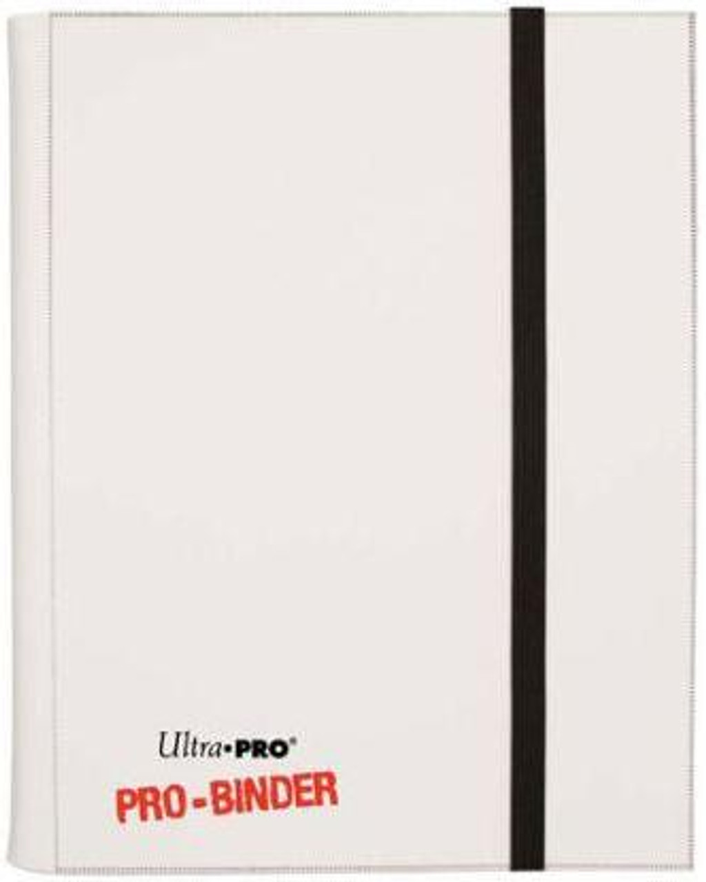 Ultra Pro Card Supplies Pro-Binder White 4-Pocket Binder