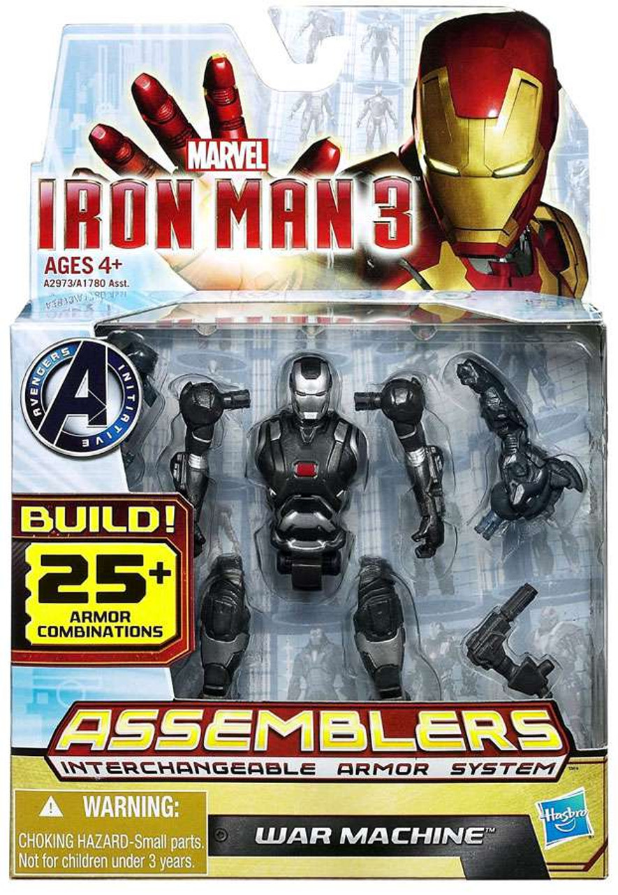 Roblox Iron Man How To Get War Machine Iron Man 3 Assemblers War Machine Action Figure A2973 Hasbro Toys Toywiz