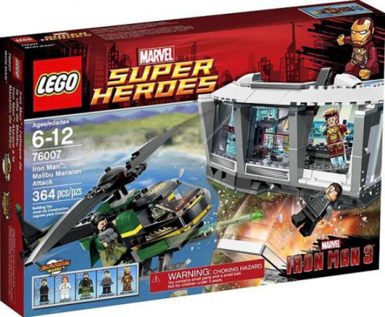 Extremis Soldier Iron Man 76007 LEGO Minifigure