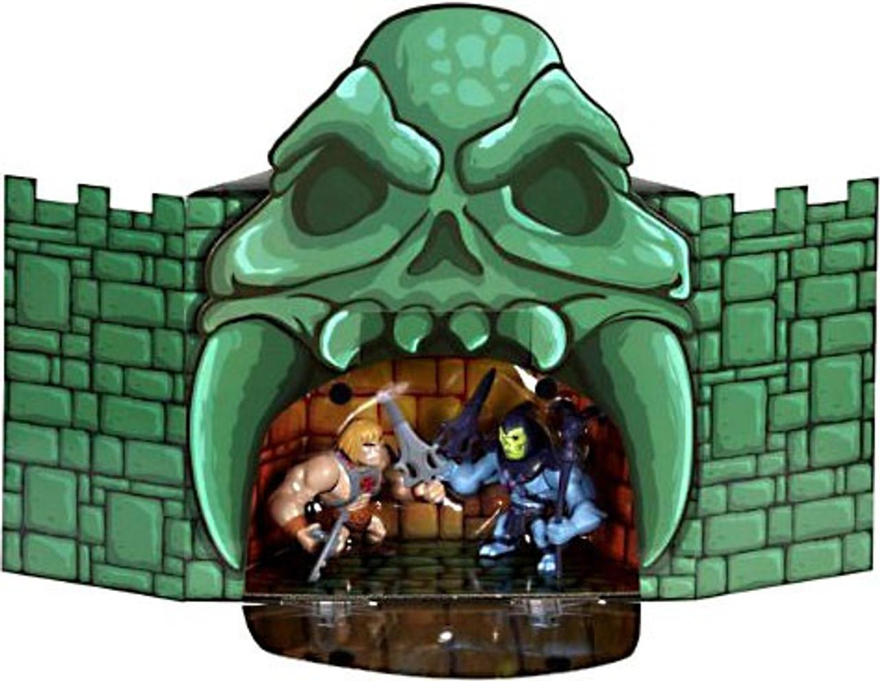 He-Man Mini Figure Masters Of The Universe Disney Toon Hero Grey Skull UK Seller