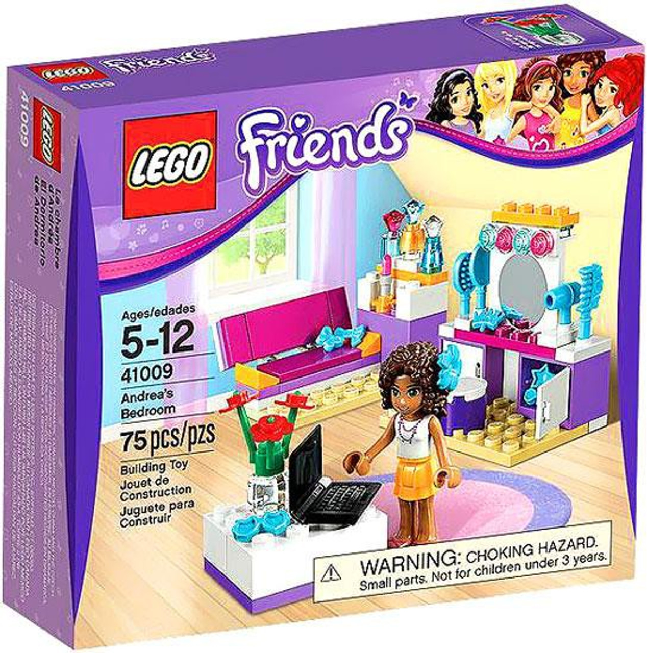 Lego 5 New Black Friends Accessories Lipstick with Black Handle Pieces