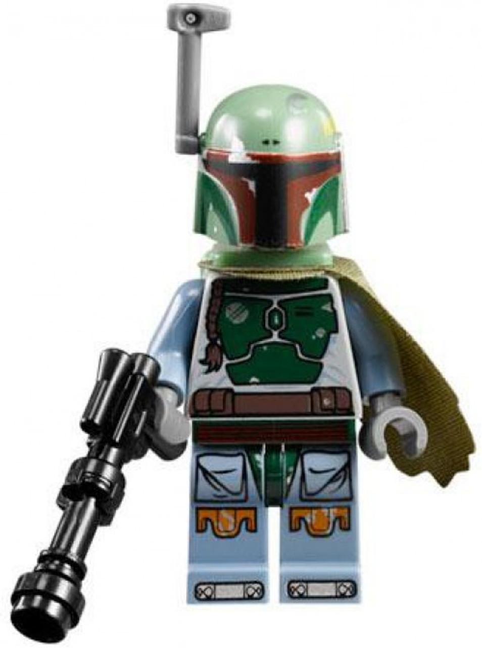 White Boba Fett and Luke Skywalker exclusive minifigures LEGO Star Wars
