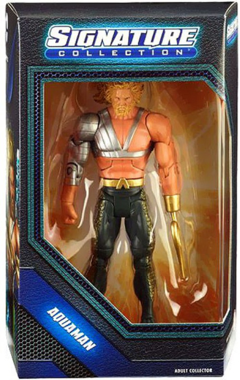 """DC SIGNATURE COLLECTION AQUAMAN WITH HOOK NEW 6/"""" ACTION FIGURE 2014"""