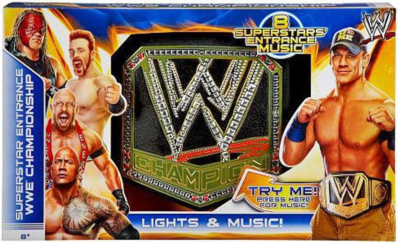 Random Package WWE Wrestling WWE Championship Kids Replica Belt