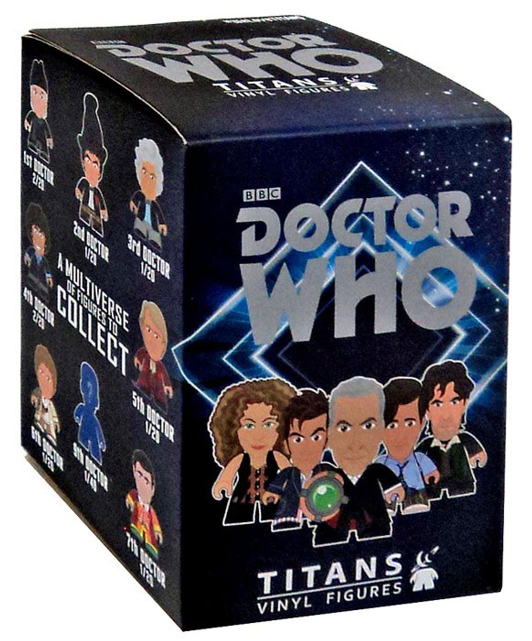 "TITANS DOCTOR WHO 3/"" VINYL FIGURE CHOOSE YOUR DOCTOR REGENERATION WAVE"