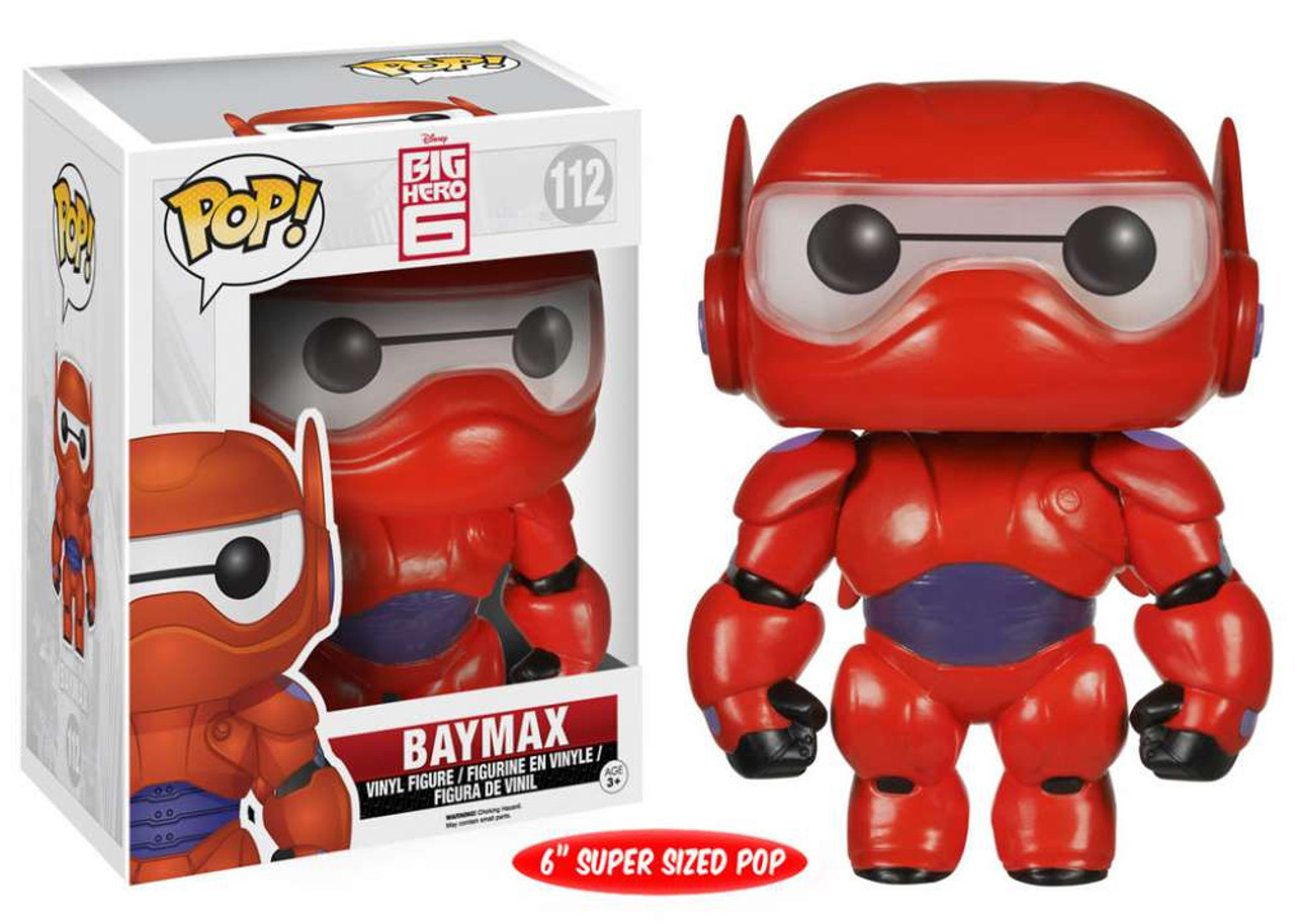Funko Disney Big Hero 6 Pop Disney Baymax 6 Vinyl Figure 112 Super Sized Toywiz