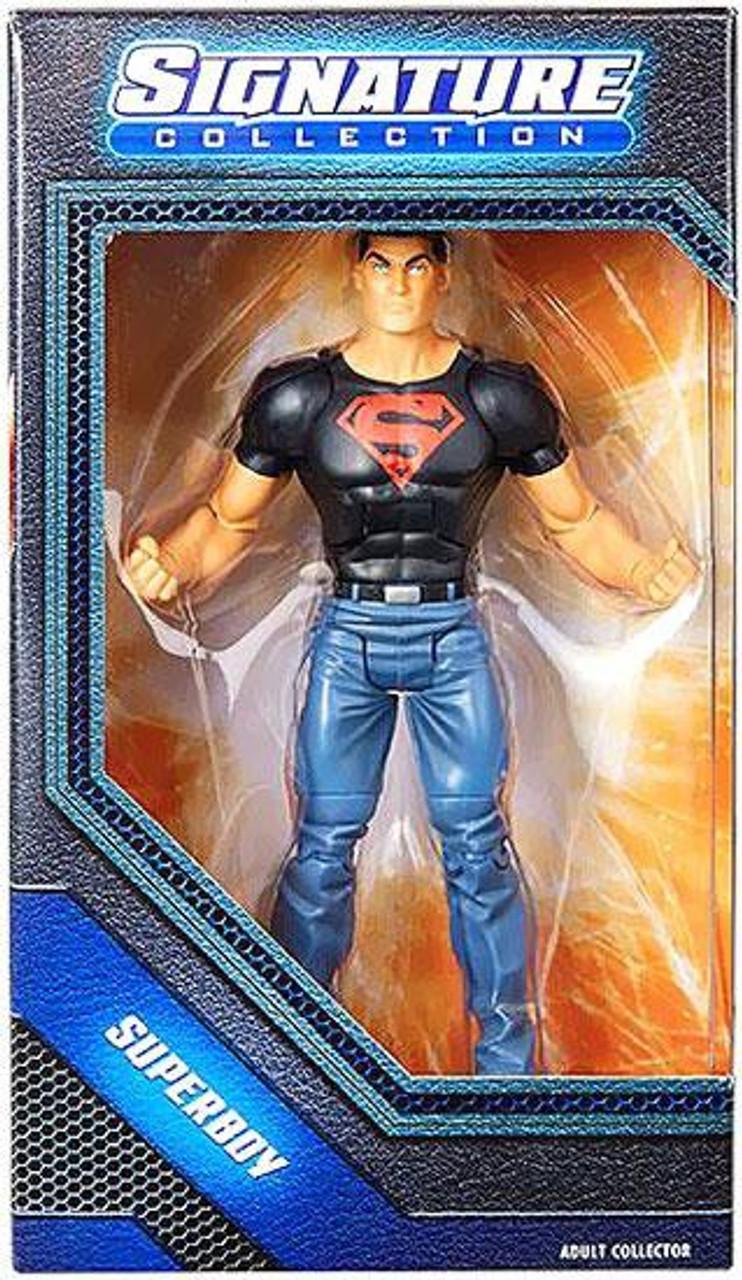 Mattel Toys Mattel DC Universe Exclusive Signature Collection Action Figure Superboy Conner Kent