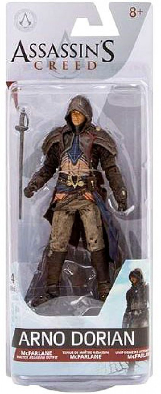 Mcfarlane Toys Assassins Creed Series 4 Arno Dorian 6 Action Figure Toywiz