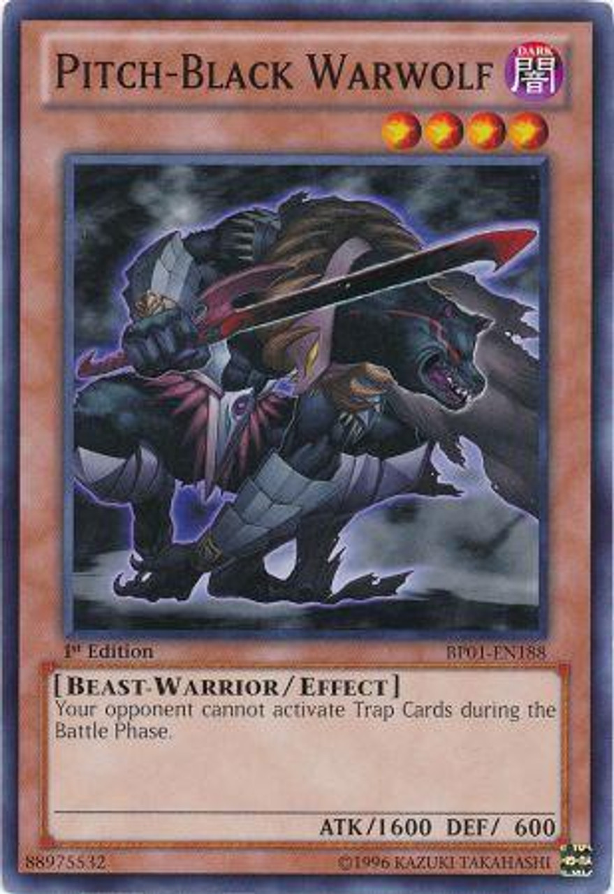 Pitch Black Game Roblox Yugioh Battle Pack Epic Dawn Single Card Starfoil Pitch Black Warwolf Bp01 En188 Toywiz